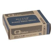 "Q-Tubes Q-Tubes Superlight 24"" x 1-1/8"" 32mm Presta Valve Tube"