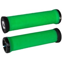 ODI Elite Motion Lock-On Grips Retro Green with Black Clamps