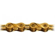 KMC KMC X9SL Chain: 9 Speed 116 Links Ti Nitride Gold