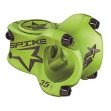 Spank Spike Race Stem 35mm Length, 31.8 Bar Clamp, Matte Green