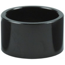 """Wheels Manufacturing 20mm 1"""" Headset Spacer Black Each"""