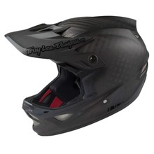 Troy Lee Designs D3 CARBON MIPS; MIDNIGHT BLACK SM