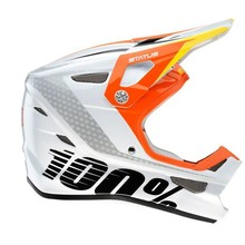 100% INV Status Full-Face Youth Helmet: D-Day White MD