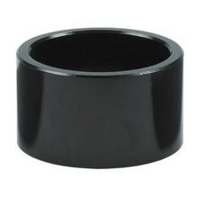 "Wheels Manufacturing 10mm 1-1/8"" Headset Spacer Black Bag/5"