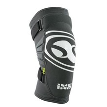 iXS iXS Carve EVO Knee Pad: Gray/Black, Kids MD