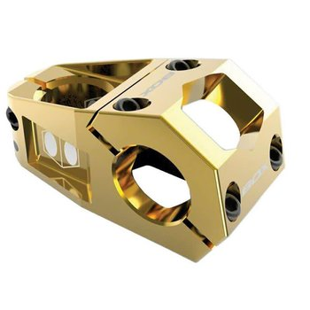 BOX Delta Stem +/- 0 degree 31.8mm Bar Clamp 53mm Reach, Gold