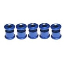 MCS CHAINRING BOLTS BLUE