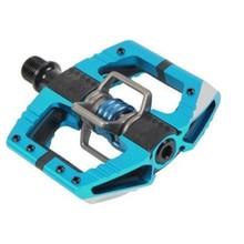 Crankbrothers INV Pedals - Mallet Enduro - Light Blue / Light Blue Spring