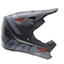 100% Status Full-Face Youth Helmet: Black Meteor SM