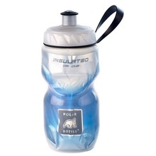 Polar Bottles Polar Insulated Water Bottle: 12oz, BlueFade
