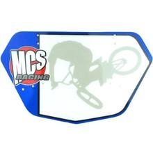 MCS Pro Numberplate, Blue