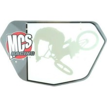 MCS Pro Numberplate, Gray