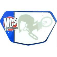 MCS Mini Numberplate, Blue