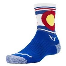SWIFTWICK INV Swiftwick Vision Spirit Five Sock: Colorado MD