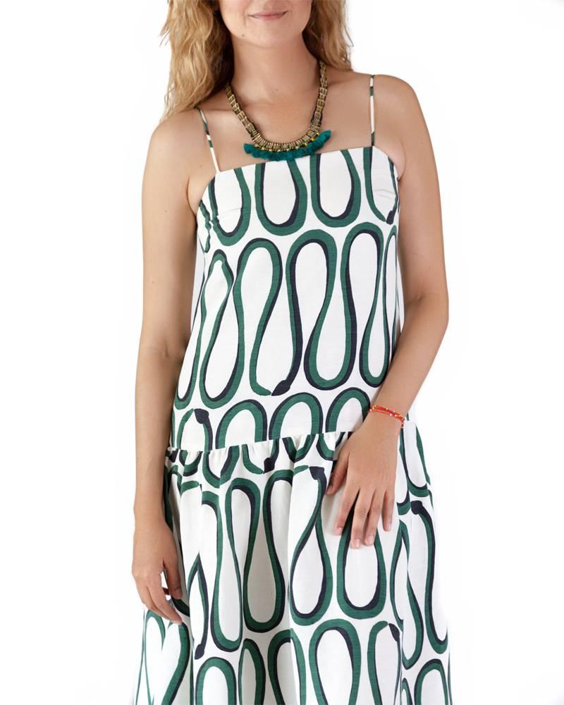 Whit Cate Snake Print Dress