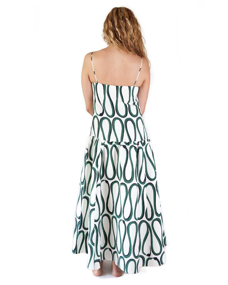 Whit Cate Snake Print Dress
