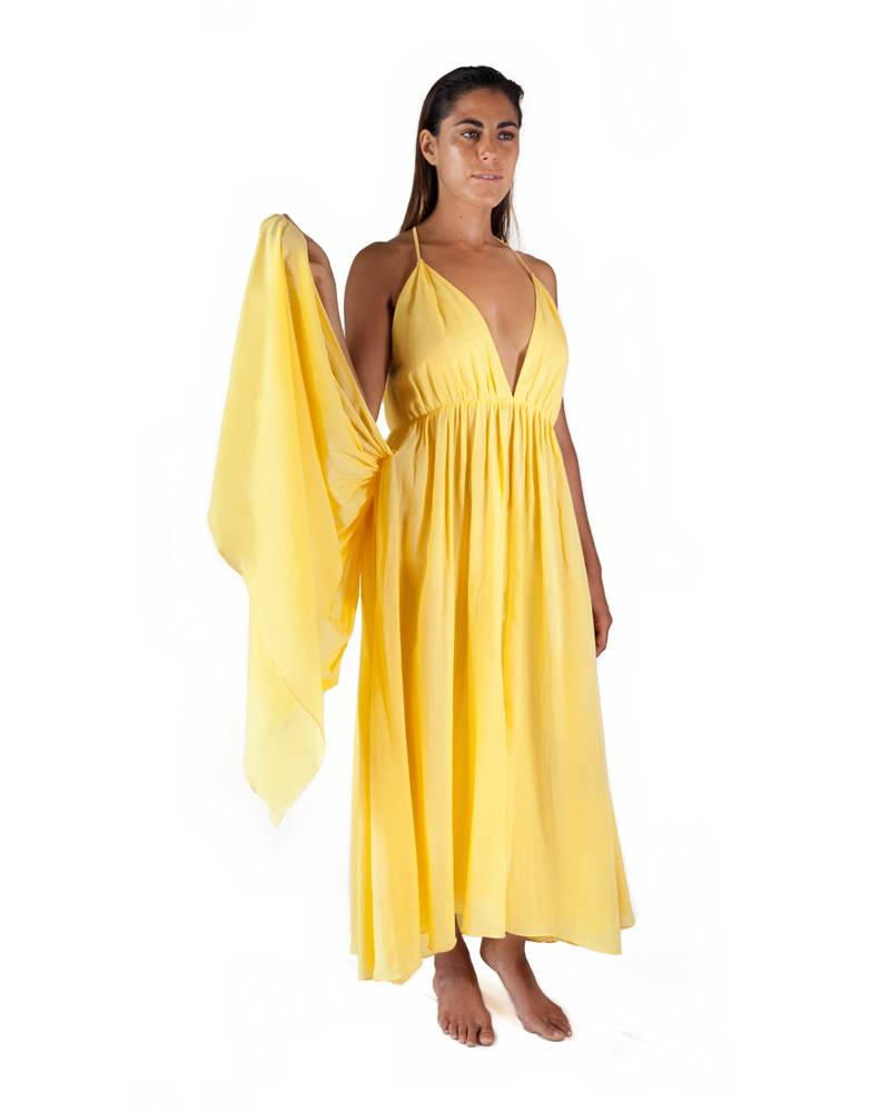 Loup Charmant Lucia Sunshine Organic Cotton Dress