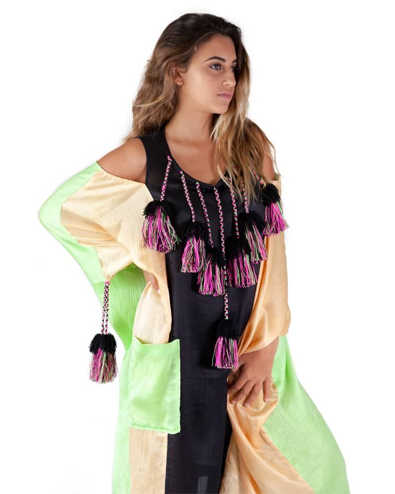 Carla Fernandez Claudia Pompon Dress