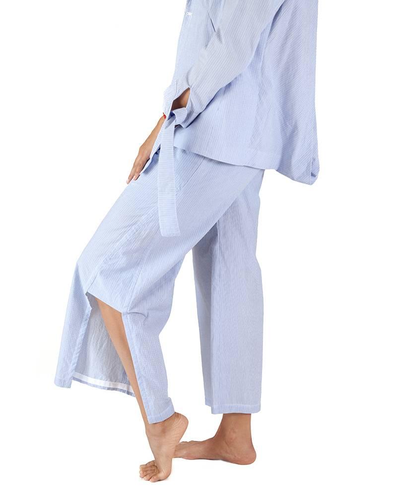 Armando Takeda Cord Lane Side Slit Trousers