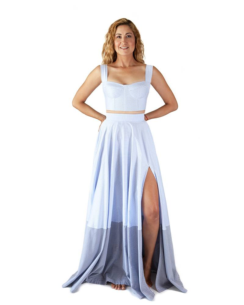 Sandra Weil Cosme Maxi Skirt