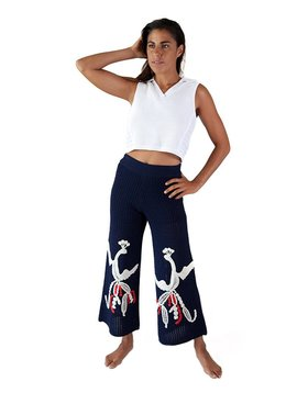 Tabula Rasa Loon Wide Leg Knit Pant