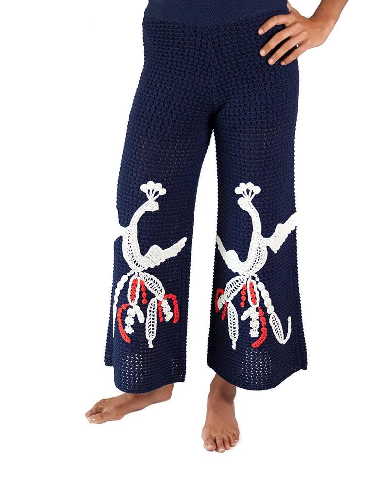 Tabula Rasa Loon Wide Leg Knit Pant