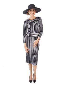 Tabula Rasa Stripe Knit Dress