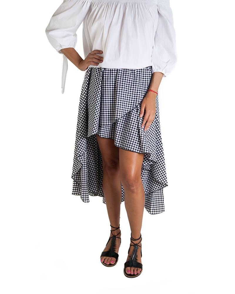 Caroline Constas Adelle Asymmetric Skirt
