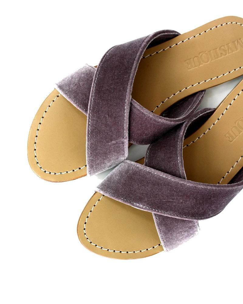 Mystique Bern Suede Sandals