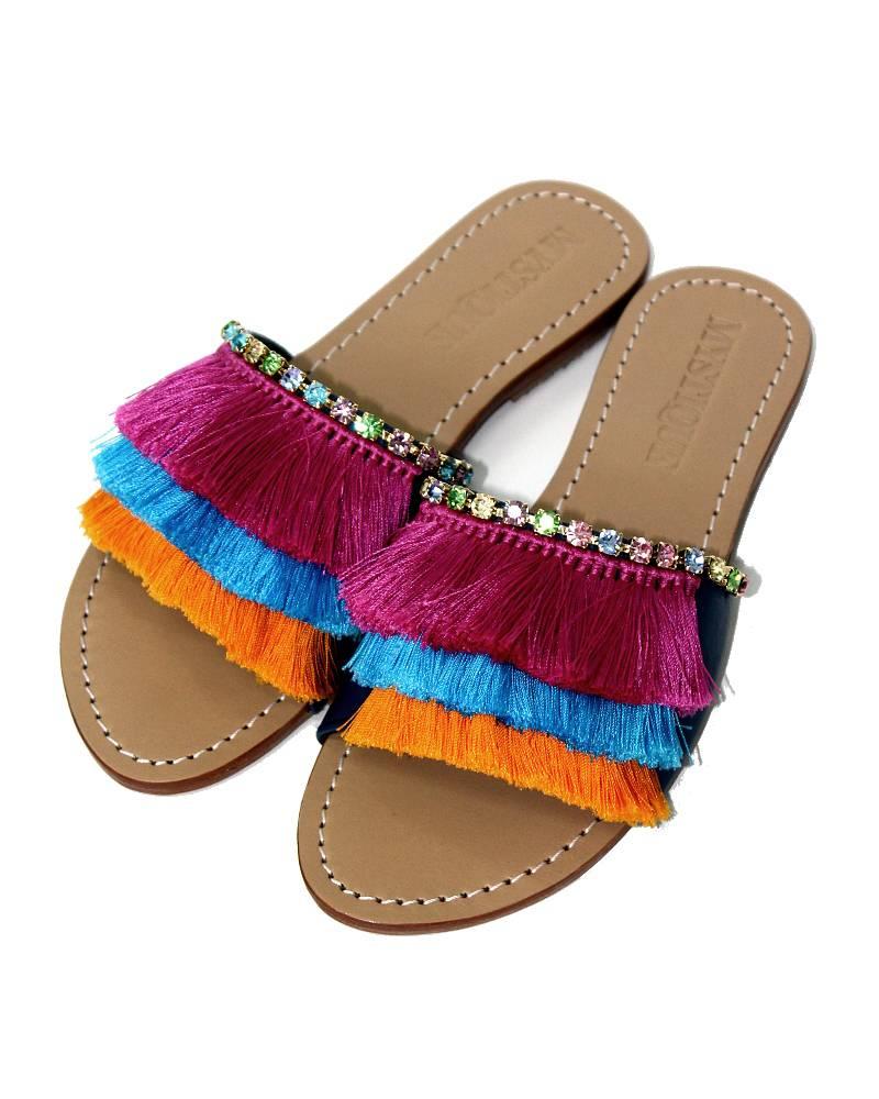 Mystique Caribou Multicolor Sandals