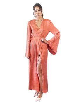 Awave Awake Wrap Robe Dress