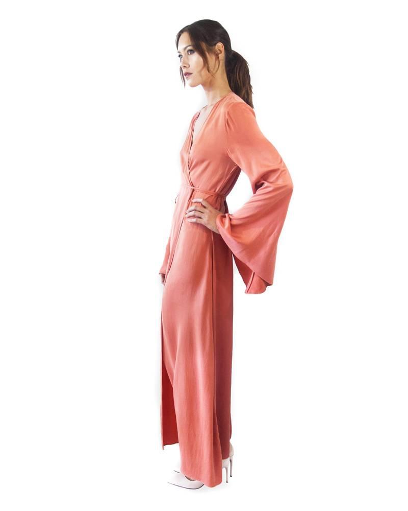 Awave Awake Wrap Robe Dress