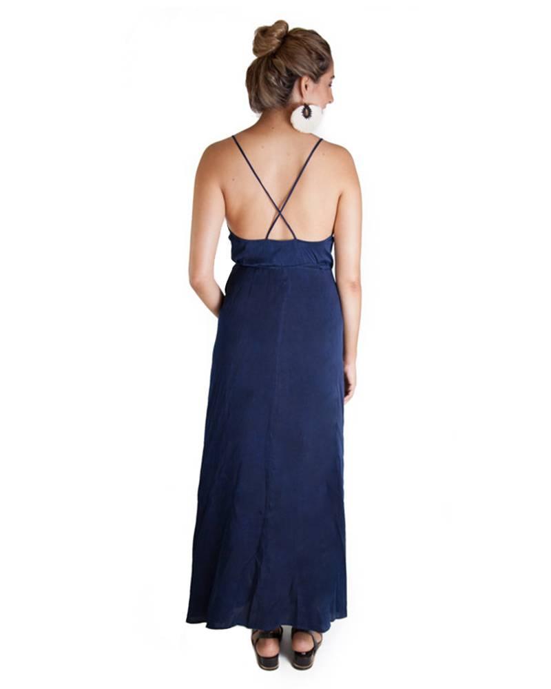 Awave Awake Charmeuse Wrap Dress