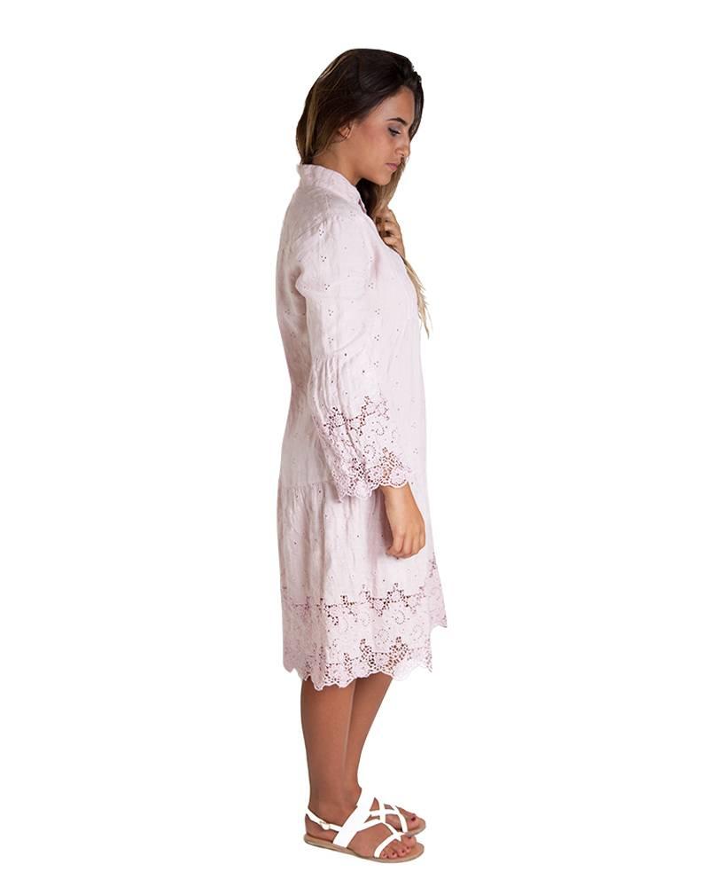 0039 Italy Rosalia Linen Dress