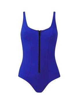 Lisa Marie Fernandez Jasmine Bonded Maillot Swimsuit