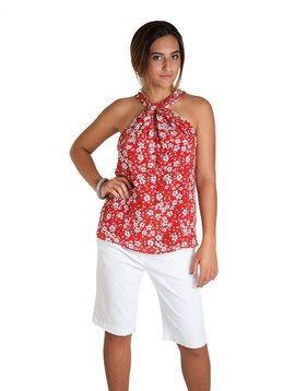 0039 Italy Orchid Silk Top