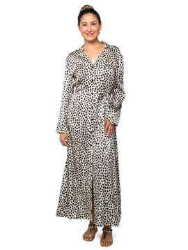 Cynthia Rowley Dot Print Shirtdress