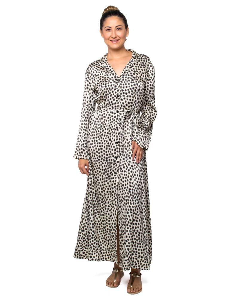 Cynthia Rowley Dot Print Shirtdress