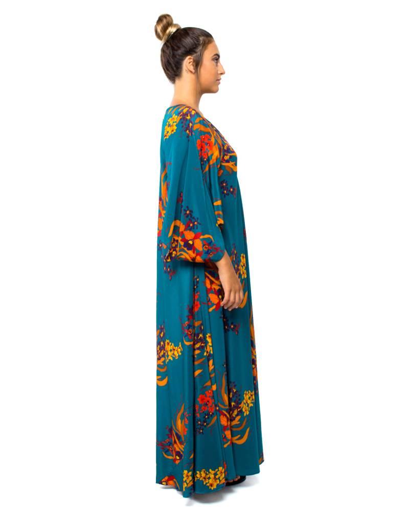 Jaline Wild Orchid Maxi Dress
