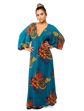 Jaline Wild Orchid Maxi Dress