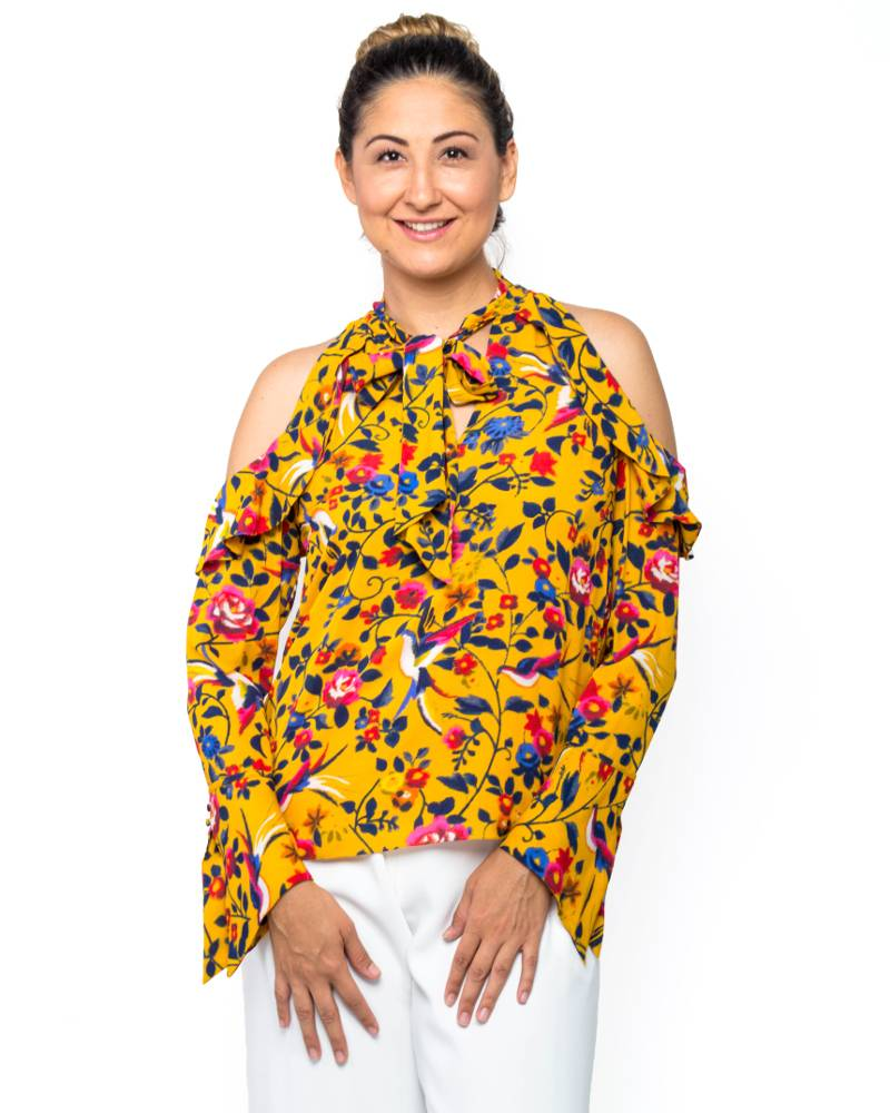 Tanya Taylor Adriene Kimono Top