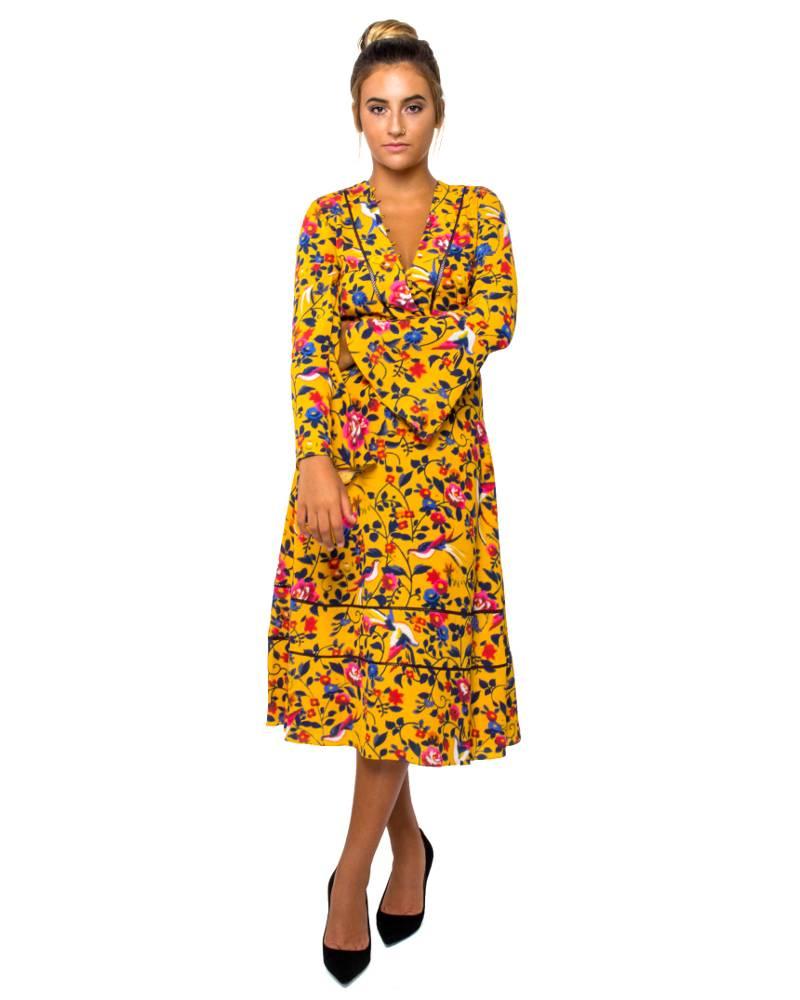 Tanya Taylor Idella Kimono Dress