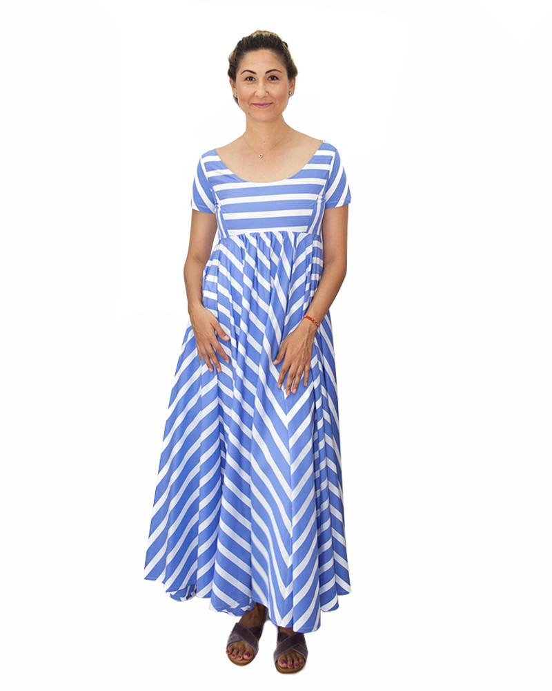 Thierry Colson Romy Striped Dress
