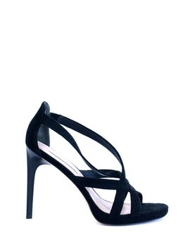 DVF Siracusa Suede Strappy Sandals