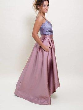 Sandra Weil Rosewood Deco Skirt