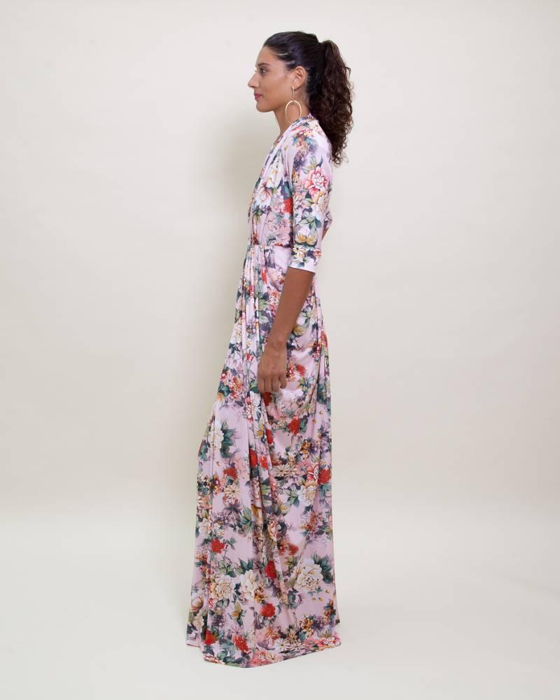 Sandra Weil Blush Flower Piaf Dress