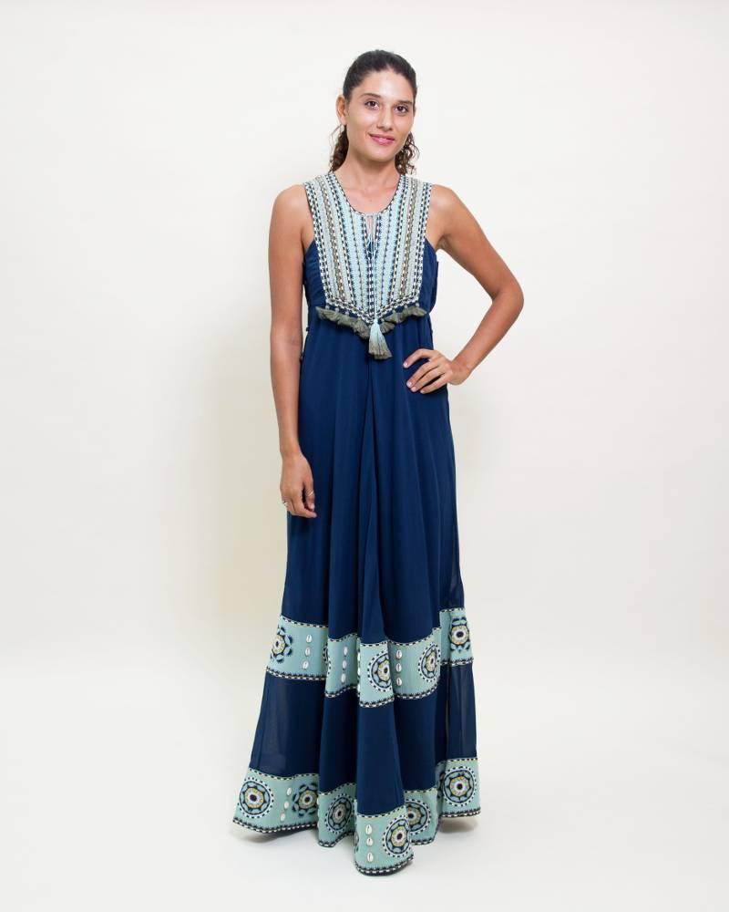 Talitha Massai Pinafore Dress