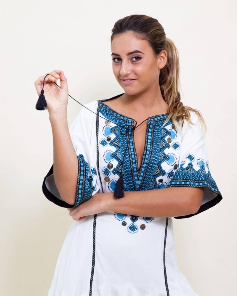 Talitha Alai Embroidered Dress