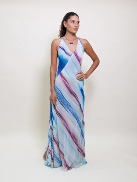 Catherine Gee Sea Print Dress