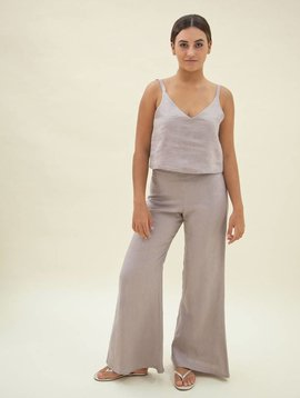 Zii Ropa Lora Flare Linen Pant